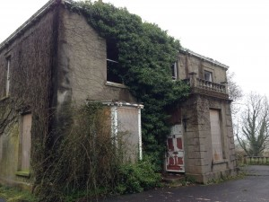 Naghan Lodge is derelict state