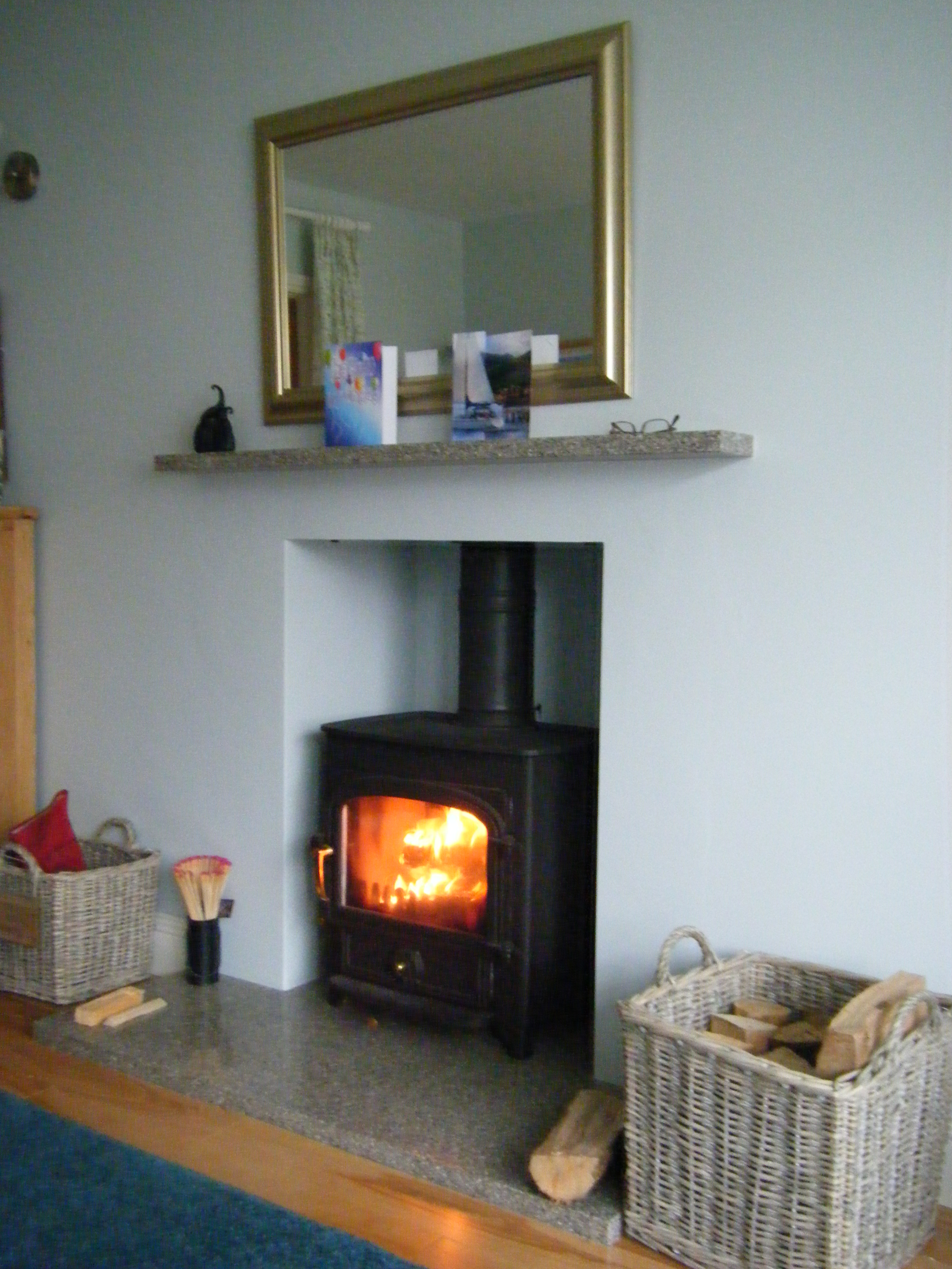 Vision flat top with floating mantle